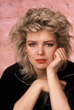 1985 photo of Kim Wilde
