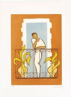 Paula Cox Ensueño, 2002 Aguafuerte Formato de imagen: 47 x 33,5 cm Papel: Somerset Velvet 75,5 x 57 cm Edición de 75 ejemplares numerados y firmados