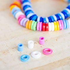 How to make pretty bracelets out of melted plastic perler beads. In Swedish and English.
