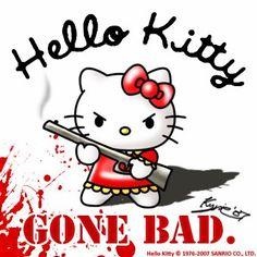 Hello Kitty meets Miranda Lambert's Gunpowder & Lead...