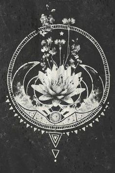 jewelry Black and White inspiration boho moon flower bohemian tribal geometry gypsy lotus bodyjewelry sacred Gypsy Soul bodychain aluna