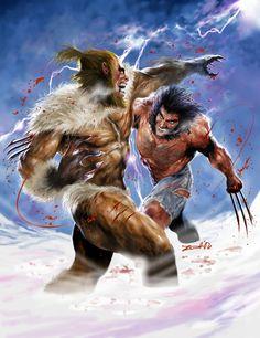 sabretooth (victor creed) vs wolverine (james howlett / logan)