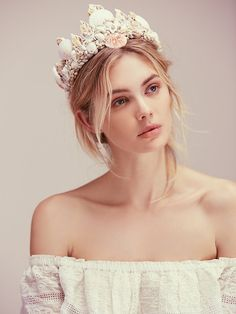 Wild & Free Jewelry for Free People -- Dreamer Mermaid Crown, $158.00