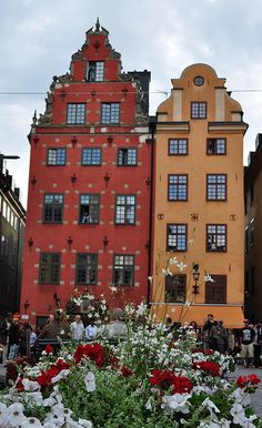 Stortorget, #Gamla stan, #Stockholm, #Sweden Book your trip to this incredible country through Lisa@Livefortravel.co.uk or join us on www.facebook.com/Livefortravel.co.uk