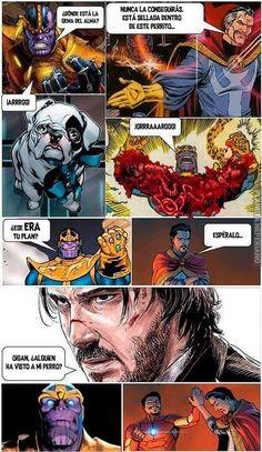 Thanos vs John wick por Noobing. Descubre PlanetaNeperiano donde encontraras las mejores imagenes de humor, memes, gifs y videos de internet, pasa un rato divertido y relajate.