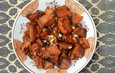 Made. Sweet Potatoes with Bourbon and Maple - Bon Appétit.  New Thanksgiving keeper.