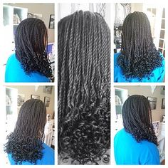 curly senegalese twist - Google Search