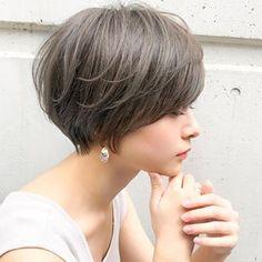 Pin on ショートカット Asian Short Hair, Very Short Hair, Short Hair Cuts, Trending Hairstyles, Short Hairstyles For Women, Japanese Haircut, World Hair, Edgy Hair, Pixie Haircut