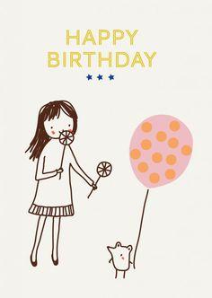 Free printable Happy Birthday - Le Blog My Little Bazar | Idées déco et cadeaux originales pour les enfants - Little Cube