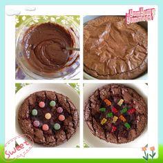 gummy brownies:)
