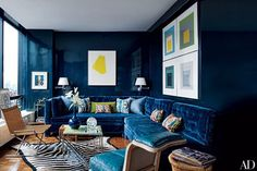 Lacquered walls and