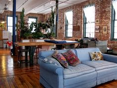 Joel & McKenzie's Salvaged Live/Work Loft