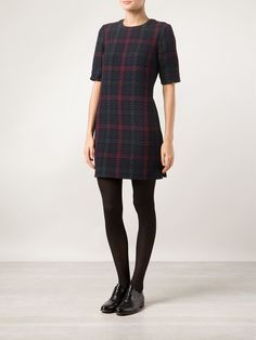 Elizabeth And James 'clairemont' Plaid Dress - Knit Wit - Farfetch.com
