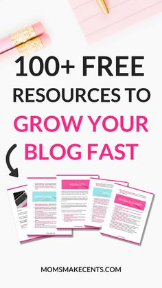 The ultimate roundup of blogging freebies! Free Media Kit Templates, Stock Photos, Printable Planners, Blogging Worksheets, Resource Libraries, Design Elements, Mockups, Ebooks, WordPress Themes and more! Click to download the full list!