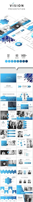 Dusk Multipurpose Powerpoint Pinterest Keynote Creative - Fresh restaurant presentation template scheme