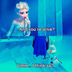 Frozen Funny Olaf Part Disney Love, Disney Magic, Disney Frozen, Olaf Frozen, Frozen Pics, Frozen Funny, Frozen Stuff, Disney Stuff, Disney And Dreamworks