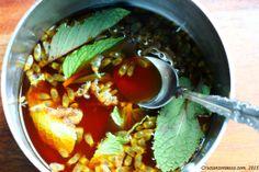 passion fruit mint julep