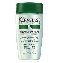 Kerastase Resistance Bain de Force Wzmacniająca kąpiel do włosów Shampoo For Damaged Hair, Shampoo For Fine Hair, Hair Shampoo, Mobile Beauty Therapist, Mascara, Hair Massage, Cheap Perfume, Beauty Treats, Damp Hair Styles