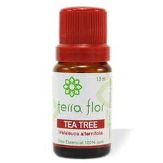 Óleo Essencial de Tea Tree - Terra Flor Aromaterapia www.terra-flor.com