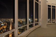 This Trump property, valued at 32 million, has panoramic views of Chicago.
