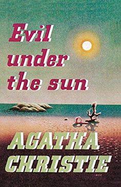 Agatha Christie S Novel Evil Under The Sun Dust Jacket Ilration Of First Uk Edition