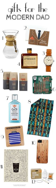 Gifts for Men: Fathers Day gifts for the Modern Dad