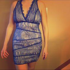 Arden b lace dress v neck