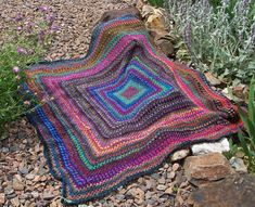 Design 03 Crochet Blanket pattern by Jenny Watson