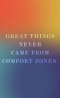 Comfort Zones. #levoinspired quotes http://instagram.com/levoleague