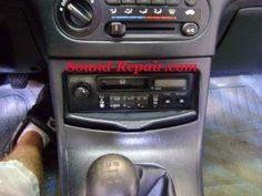 Honda Del Sol 93-97 Stereo Removal