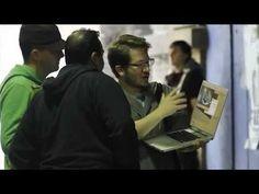 Cómo se gestó y se llevó a cabo el evento 3D de Toyota Auris hybrid