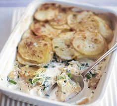 Warm, comforting and made in the microwave, this might well be the easiest fish pie ever