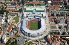 Coimbra City Stadium (Coimbra, Portugal) By KSS Design Group Partnership