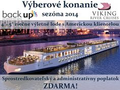 Interviews for all positions aboard Viking River Cruise fleet to take place in Bratislava/ Slovakia in December 2013.  Recruiting proces is free of Charge to all applicants!