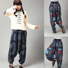 Bohemian Women's Harem Pants.. how comfy do these look?!