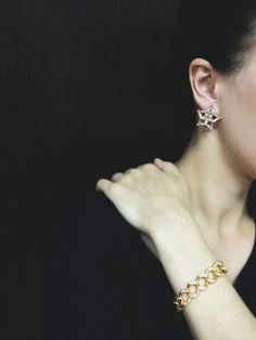 #Rosebrinelli #RB #nice #jewelry #fashion #style #glamour #earrings #bracelet #star