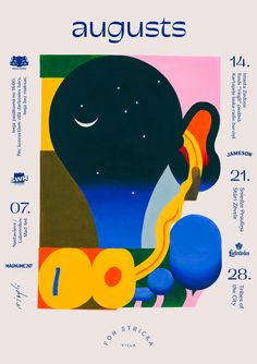 Riga-based illustrator Roberts Rurans on the evolution of his lively style Graph Design, My Design, Graphic Design Illustration, Illustration Art, Graphic Art, Create A Comic, Poster Layout, Mosaic Designs, School Design