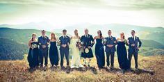 bridal party vail mountain Kellie Photo » Wedding and portrait photography in Denver, Colorado