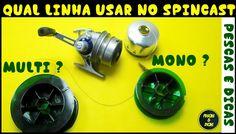 Qual Linha Utilizar no Spincast, Mono ou Multi? [Pescas e Dicas]