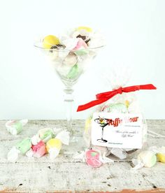 """""""Home of the world's 1st Taffy Hour!""""  #Saltwatertaffy is #glutenfree.  The taffy is always cooked with #coconut oil except  #Butter #rum and #Butterscotch.  They are made with real butter."""