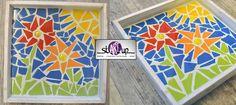 Diy: How to: tray mosaic.   Hoe je een dienblad kan mozaieken.    @ Atelier stARTup