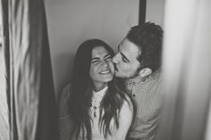 photo booth fun - 20 Non-Cheesy Poses for Your Engagement Shoot | Bridal Musings Wedding Blog 20