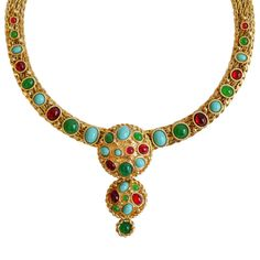 Jeweled Collar by Christian DIOR