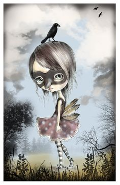LIMITED EDITION print signed numbered by ppinkydollsart on Etsy