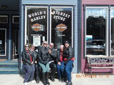 We stopped at the Harley Store in Silverton, CO