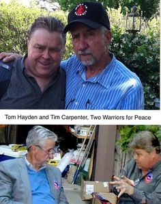 In Memory of Tom Hayden - updated for Election Day