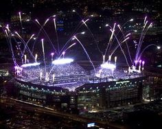M Bank Stadium Lights Up the Night Picture at Baltimore Ravens Photo Store