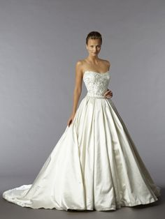 Alita Graham ball gown #Wedding #dress #bride