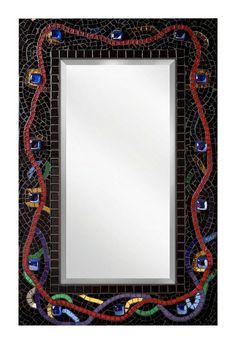 Mardi Gras Mirror by piecebypiece, via Flickr