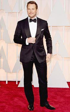 Oscars 2015 Red Carpet: Who's Wearing What | Chris Pratt | EW.com